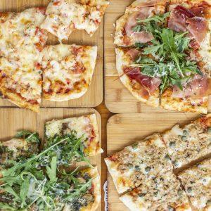 Pizzas para Santa Filomena