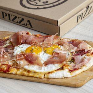 Pizza para Santa Filomena