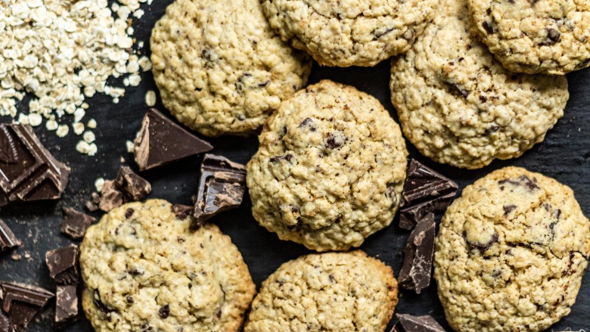 Fata Morgana comunicación también te explica la receta de coockies de avena y chocolate.